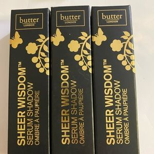 Butter London serum shadow trio